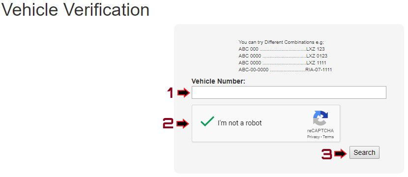 How to Verify Punjab Vehicles Online