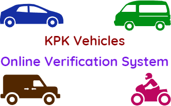 Verify KPK Vehicles Online Verification System FI