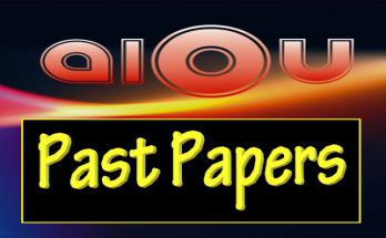 AIOU Past Papers all Codes all Programs fi