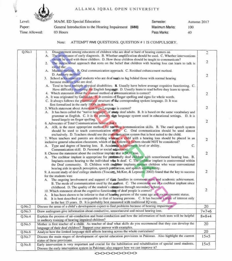 AIOU-MEd-Code-680-Past-Papers-Autumn-2017